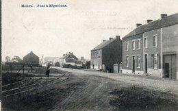 Mellet  Pont à Migneloux Rails Du Tram Circulé En 1913 - Les Bons Villers