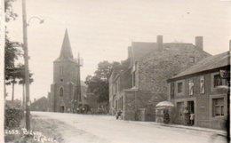 Bievre  L'église  Carte Photo Festonnée N.2379 Petite Animation Circulé En 1943 - Vresse-sur-Semois