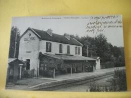 60 7950 CPA 1918 - 60 ENVIRONS DE COMPIEGNE. VIEUX MOULIN. LA GARE. - France