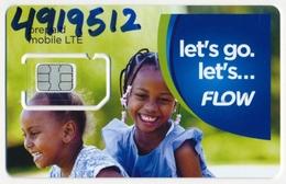 SAINT VINCENT FLOW GSM (SIM) CARD MINT UNUSED - Saint-Vincent-et-les-Grenadines