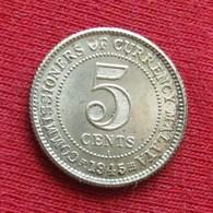 Malaya 5 Cents 1945 I - Coins