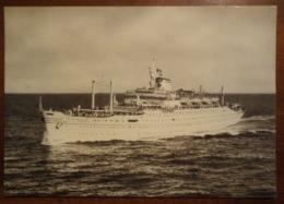 "Nave ""Europa"" - Lloyd Triestino Bateau, Ship, Boat - Viaggiata - Boten"
