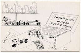 CP Illustrateurs - La Carte Postale Le Regard Exposé Au Regard Par C. Brunel - Autres Illustrateurs