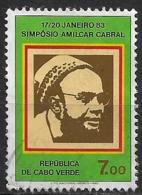 Cabo Verde – 1983 Amílcar Cabral 7.00 Used Stamp - Islas De Cabo Verde