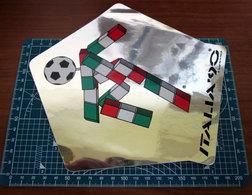 ITALIA '90 SPECCHIO VINTAGE STICKER ADESIVO NEW ORIGINAL - Stickers