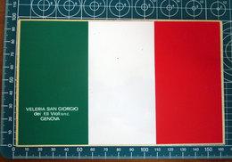 VELERIA SAN GIORGIO GENOVA VINTAGE STICKER ADESIVO NEW ORIGINAL - Stickers