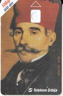 SERBIA - Vuk Stefanovic Karadzic(1787-1864), Telecom Srbija 200 Din(glossy), CN : 1234 567890, 06/04, Printing Test Card - Jugoslawien