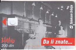 SERBIA - PTT Museum In Belgrade, Telecom Srbija Telecard 200 Din, CN : 1234 567890, 06/04, Printing Test Card - Jugoslawien