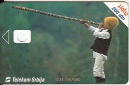 SERBIA - Busin, Telecom Srbija 200 Din, 03/04, CN : 1234 567890, 03/04, Printing Test Card - Yugoslavia