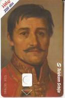 SERBIA - Portrait Of Vozda Karadorda, Telecom Srbija 200 Din, CN : 1234 567890, 02/04, Printing Test Card - Jugoslawien