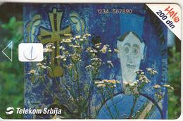 SERBIA - Krajputasi, Telecom Srbija 200 Din, CN : 1234 567890, 11/03, Printing Test Card - Yugoslavia
