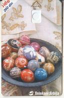 SERBIA - Easter 2002, Telecom Srbija 200 Din, CN : 1234 567890, 03/02, Printing Test Card - Jugoslawien