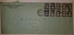 O) 1914 MEXICO, OPA - O.P.A., TRANSITORIO - ROULETTED SC 354 1c, CIA CONSTRUCTORA RICHARDSON, XF - Mexiko