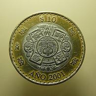 Mexico 10 Pesos 2001 - Messico