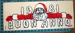 1981 BUON ANNO R41 VINTAGE STICKER ADESIVO NEW ORIGINAL - Stickers