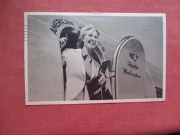 American Airline Flagship    Stewardesses  1941 Cancel  Ref 4093 - 1939-1945: 2de Wereldoorlog
