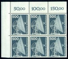 Germany Berlin 1975 Radio Telescope,Radioteleskop,Mi.507,Bl. X 6,MNH - Telekom