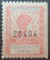 DF40266/1874 - 1934 - FRANCE - LA FRANCAISE / TIMBRE-PRIME à 0,20 - NEUF** - Autres