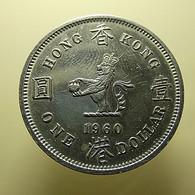 Hong Kong 1 Dollar 1960 - Hongkong