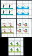 Germany 1999 Cartoon Characters,Rabe Rudi,Dragon,Polar Bear,Mi.2055 Bl. X 4,,MNH - Sellos