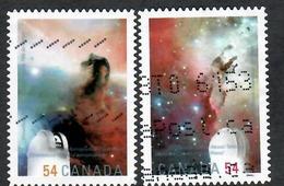 Sc. # 2324 & 25 International Year Of Astronomy Pair 2009 Used K670 - 1952-.... Regering Van Elizabeth II
