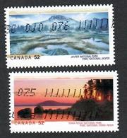 Sc. # 2223 & 24 National Parks Pair 2007 Used K671 - 1952-.... Regering Van Elizabeth II