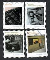 Sc. # 2488a-d Canadian Innovations Set Used 2011 K681 - 1952-.... Règne D'Elizabeth II