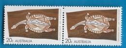 Australia 1971 Aboriginal Art Turtle Pair MNH Animals - Ungebraucht