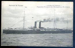 Cpa Armand Béhic -- Paquebot Français Des Messageries Maritimes   AVR20-156 - Passagiersschepen