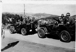 GUERRE D'ALGERIE  POLICE MILITAIRE La Garde Raprochée Du  Général  CHALLES - Krieg, Militär
