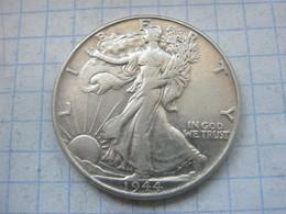 United States , Half Dollar 1944 - 1916-1947: Liberty Walking