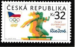 Ceska Republika 2016 Rio De Janeiro Olympic Games   MNH/** (H61) - Eté 2016: Rio De Janeiro