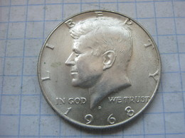 United States , Half Dollar 1968 D - Federal Issues