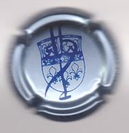 Capsule Champagne DELOZANNE Yves ( 37a ; Bleu-métal Et Bleu ) 4€ {S22-20} - Champagne