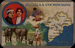 COLONIES FRANCAISES....LA COCHINCHINE   ..PAR LION NOIR - Sonstige