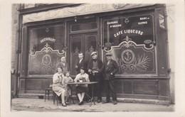 Carte Photo ,devanture De Café Restaurant - Fotografia