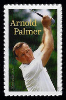 USA, 2020, 5455, Arnold Palmer, Professional Golpher, Single, Forever, MNH, VF - United States