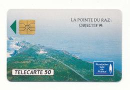 FONDATION GAZ DE FRANCE  LA POINTE DU RAZ - Werbung
