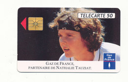 GAZ DE FRANCE NATHALIE TAUZIAT - Sport
