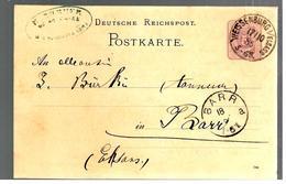32467 - De WEISSENBURG I / Elsass - Interi Postali