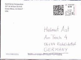 USA - Terminal-Label über 4,80 $ Für Eine Auslandsbrief  Vom 05.07..2013 - Other