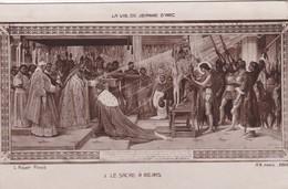 JEANNE D ARC(LOT DE 7 CARTES) PEINTURE - Schilderijen