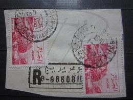"""VEND BEAUX TIMBRES D ' ALGERIE N° 804 X 2 , OBLITERATION """" B.B.ARRERIDJ """" !!! - Algerien (1962-...)"""