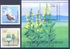 2015. Uzbekistan, Flora, 2v + S/s, Mint/** - Usbekistan