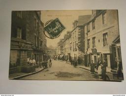 Vire,rue Emile Chesnel(normalement Chenel),voyagée 1909,très Rare Introuvable Sur Ebay Et Delcampe,Calvados 14,TBE - Vire
