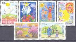 2009. Uzbekistan, Childrens Drawings, 6v, Mint/** - Usbekistan