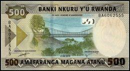 RWANDA - 500 Francs 01.02.2019 UNC P.New - Rwanda