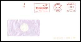 Bund / Germany: Stempel 'Wochenkurier – 01008 Dresden, 1996' / Cancel 'Weekly Courier' - BRD