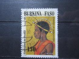 "VEND BEAU TIMBRE DU BURKINA FASO N° 844 , OBLITERATION "" TAMPOUI "" !!! - Burkina Faso (1984-...)"