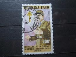 "VEND BEAU TIMBRE DU BURKINA FASO N° 829 , OBLITERATION "" FADA N'GOURMA "" !!! - Burkina Faso (1984-...)"